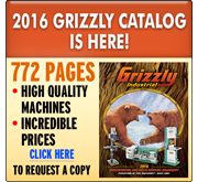 2016 Grizzly Catalog is Here!