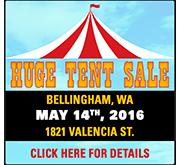 Huge WA Tent Sale!