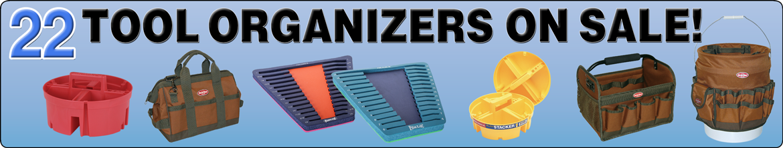 22 Tool Organizers