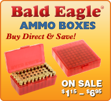 Bald Eagle Ammo Boxes