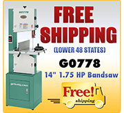 Free Shipping - G0778