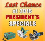 Last Chance Presidents Specials