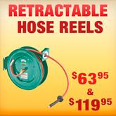 Retractable Hose Reels