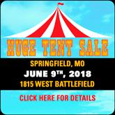 MO1 Tent Sale