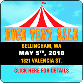 WA Tent Sale