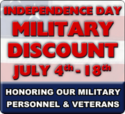 Independence Day Military Discount