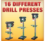 10 Different Drill Presses