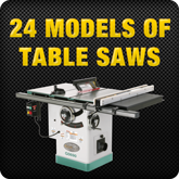 23 Models of Table Saws