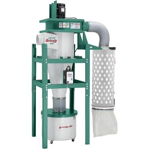 2 Hp Cyclone Dust Collector Grizzly Industrial