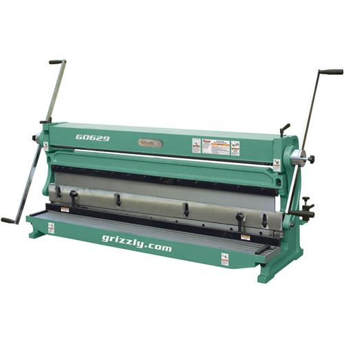 52 Quot 3 In 1 Sheet Metal Machine Grizzly Industrial