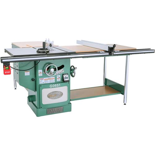 10 Heavy Duty Cabinet Table Saw With Riving Knife Grizzly Industrial