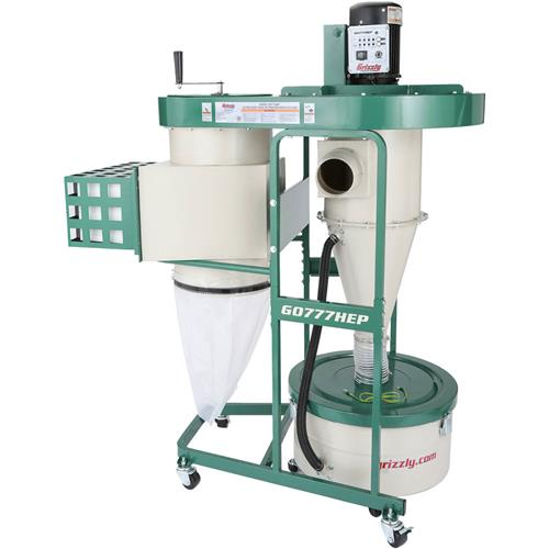 Ultra Quiet Cyclone Dust Collector Grizzly Industrial
