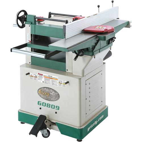 combination jointer planer with fixed tables grizzly industrial. Black Bedroom Furniture Sets. Home Design Ideas
