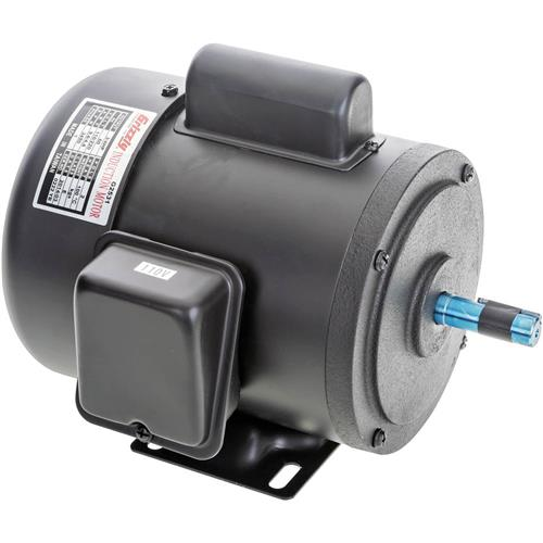 Heavy duty motor 3 4 hp single phase 3450 rpm tefc 110v for Large single phase motors