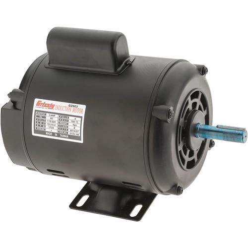 Motor 3 4 hp single phase 1725 rpm open 110v 220v for 3 hp single phase electric motor