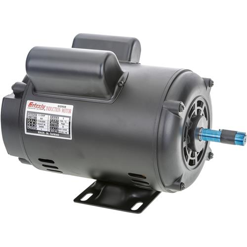 Motor 1 1 2 hp single phase 3450 rpm open 110v 220v for 2 hp electric motor single phase