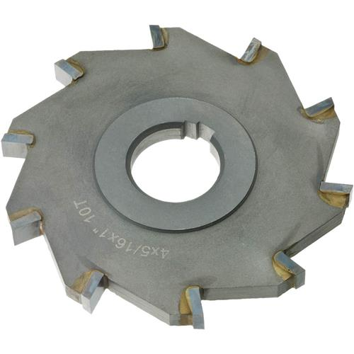 """B.8t >> Carbide Tip Side Mill Cutter, 4"""" x 5/16"""" x 1"""" B - 8T 