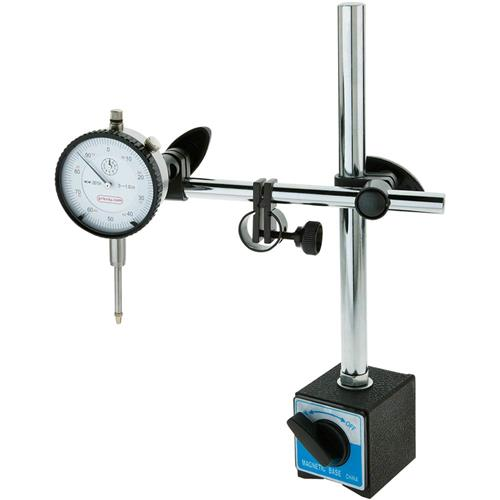 Dial Indicator Mounting In Collet : Magnetic base dial indicator combo grizzly industrial