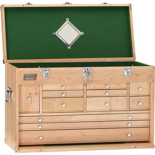 26 maple 12 drawer chest grizzly industrial - Making wood drawers ...