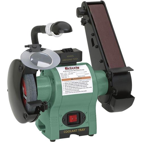 Combo Belt Sander Grinder Grizzly Industrial