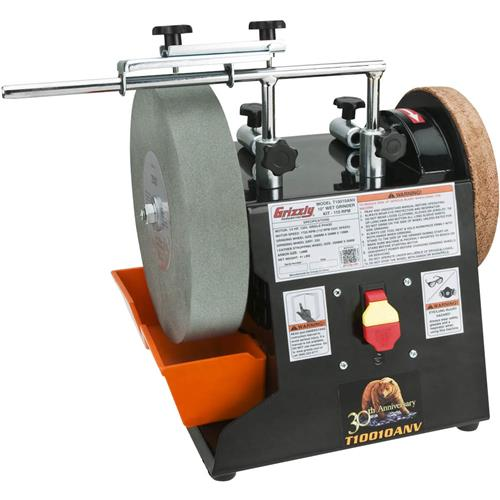 10 Quot Wet Grinder Kit Anniversary Edition Grizzly Industrial