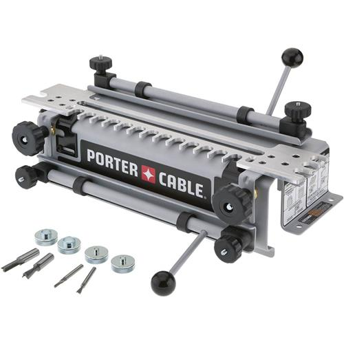 Super jig dovetail jig with mini template kit grizzly for Porter cable dovetail jig templates