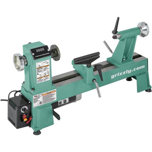 12 Quot X 18 Quot Variable Speed Wood Lathe Grizzly Industrial