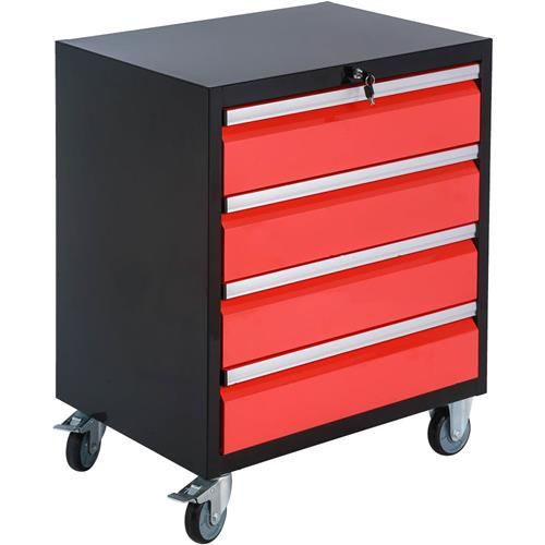 Garage storage 4 drawer rolling tool cabinet grizzly for 4 box garage
