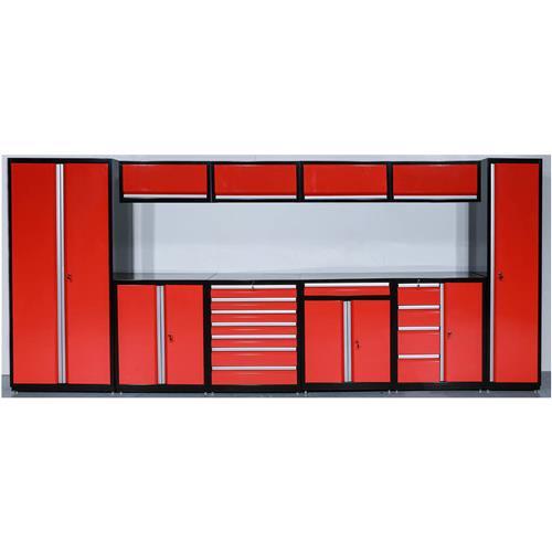 Modular Garage Storage Cabinets Set Of 10 Grizzly