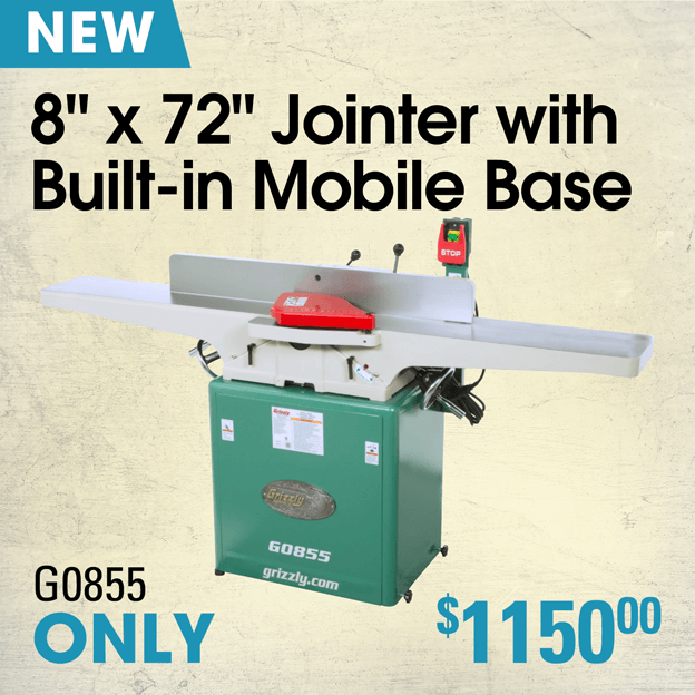 G0855 Jointer