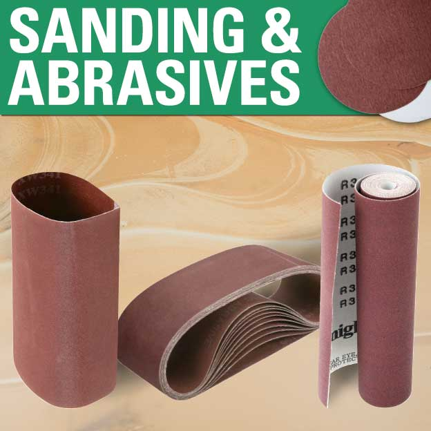 Sanding and Abrasives
