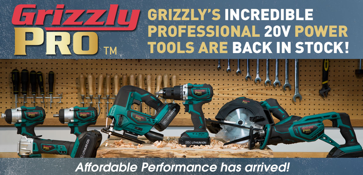 Grizzly Pro Back In Stock